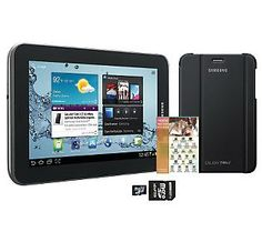 Samsung 7 8GB Galaxy Tablet 2 with Cover, SD Card & Software