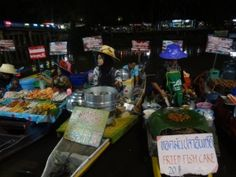River Vendors in Hat Yai, Malaysia The sounds and the smells coupled with the colorful vendors made for a memorable evening.