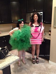 Loofah costumeper easy only needed 20 yards of thick tulle and a cool homemade loofah costume solutioingenieria Image collections