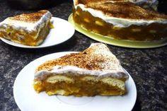 Jak na jablečný nepečený dort se zakysanou smetanou | recept French Toast, Food And Drink, Pie, Cookies, Breakfast, Ethnic Recipes, Sweet, Desserts, Torte