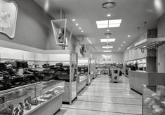 """January 27, 1947. """"Kartch's, Main Street, Paterson, New Jersey. Interior from entrance."""