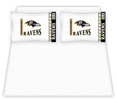 NFL Baltimore Ravens Micro Fiber Queen Sheet Set | 55DowningStreet.com Yup...gotta stay true