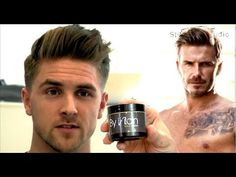 David Beckham H Men's Hairstyle from Slikhaar TV. Loads of men's hair inspiration videos on his channel!