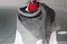 Fan Shawl - Midara Wool Jazz