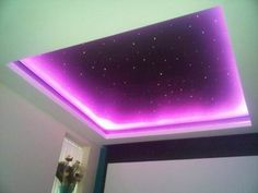 Starry Ceiling         I NEED it!!  would blue and green make aurora b effect?