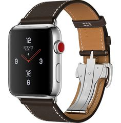 2f07aeee817 Apple Watch Series 2 Apple Watch Hermès Stainless Steel Case with Fauve  Barenia Leather Single Tour Deployment Buckle