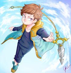 King from Nanatsu no Taizai i like how this character is so cute and stronger! Me gusta mucho este personaje, es bastante lindo pero al mismo tiempo es muy fuerte, sobre todo cuando tiene mot...