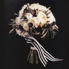 78 best Black and white wedding colors and flowers images on ...