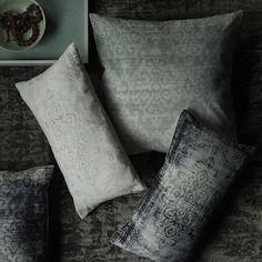 Shop west elm for modern throw pillows and decorative pillows. Add dimension and a touch of style to your sofa, chairs or bed. Modern Throw Pillows, Decorative Pillows, Interior Design Elements, Arabesque, Interior Accessories, West Elm, Slate, Home Furnishings, Pillow Covers