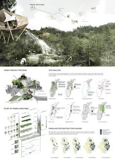 Image 17 of 17 from gallery of Exploring Post Earthquake Reconstruction 2013 AIM Competition Awards Announced Scenic Village Planning Award Image Courtesy of AIM - architecture Architecture Graphics, Architecture Drawings, Architecture Portfolio, Architecture Plan, Landscape Architecture, Landscape Design, Architecture Diagrams, Interior Architecture, Architecture Presentation Board