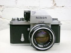 35Mm Camera | RESERVED 1970's Nikon F 35mm SLR Camera w/ Photomic by JuniperHome