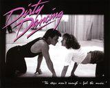 Dirty Dancing Movie Patrick Swayze Dancing Jennifer Grey 80s Poster Print Láminas