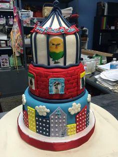 Secret Life of Pets Birthday Cake - Adrienne & Co. Bakery