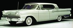 Ford celebrated a production milestone in 1959 when its 50-millionth car -- a Galaxie hardtop -- left a company assembly plant. Ford cars outsold those of rival Chevrolet that year, putting a finishing touch on what had been an exciting decade.
