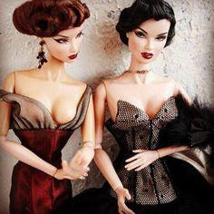 Продается Fashion Royalty A Fashionable Life AFL Vanessa Perrin RAVEN Nude Doll в идеальном состоянии без одежды на 3 теле- 45000-