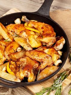 It's again and let's talk about one of my favorite go-to weeknight meals, this Whole Roasted Greek Chicken and Potatoes. Greek Chicken And Potatoes, Whole Roasted Chicken, Stuffed Whole Chicken, Whole 30 Recipes, Greek Recipes, Italian Recipes, Weeknight Meals, Easy Meals, Spatchcock Chicken