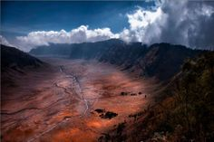 """""""This is the caldera of an active volcano, the Mount Bromo in Indonesia,"""" photographer Amardeep Singh."""