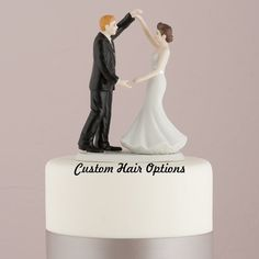 Wedding Cake Topper  Dancing Couple  by LoveandLuxeHandmade, $44.99