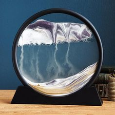 Deep Sea Sand Art | Changing Sands In Glass, Klaus Bosch | UncommonGoods (for Uncle Junie and Shawn)