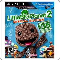 PS3 Little Big Planet 2 Special Edition R$104.90