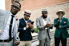 dapper well-dressed stylish black men #blackmen class via (FB: African Men Killing It)