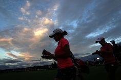 17時48分に全組ホールアウト|日本女子オープンゴルフ選手権競技 1日目 <Photo:Chung Sung-Jun/Getty Images>