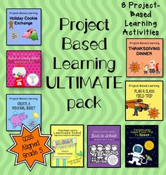 $ 8 Project-Based Learning for 5th Grade
