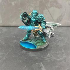 Age of Sigmar   Silver Tower   Stormcast Eternals Knight conversion tino Green Knight #warhammer #ageofsigmar #aos #sigmar #wh #whfb #gw #gamesworkshop #wellofeternity #miniatures #wargaming #hobby #fantasy