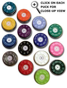 Table Shuffleboard Puck Weights in 15 Colors!