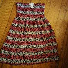 OP Colorful Tube Top Dress COLORFUL Elastic Tub Top short Dress OP Dresses Strapless