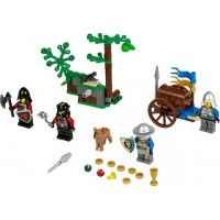 Repel the Dragon soldier Forest Ambush! LEGO Castle Theme Forest Ambush Item: 70400 Repel the Dragon soldier Forest Ambush with a falling tree function, flick missile, armored cart and treasure chest with treasure and gold! Lego Castle, Chateau Lego, Lego Movie Sets, Lego Jurassic, Lego Toys, Lego Parts, All Toys, Lego Instructions, Kids Store