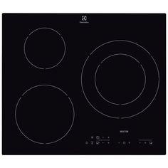 Table de cuisson induction - 60 Cm - 3 foyers  - Commandes sensitives - 9 positions par foyer - 3 minuteur -  3 Boosters -  Coloris Noir