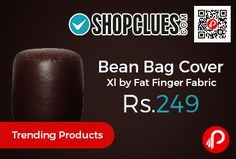 Shopclues #Trending Product is offering 58% off on Bean Bag Cover Xl by Fat Finger Fabric at Rs.249 Only. 3 Months Bean Bag Warranty, Length 10.5cm, Breadth 10.5cm, Height 10.5cm, Weight 1Kg.  http://www.paisebachaoindia.com/bean-bag-cover-xl-by-fat-finger-fabric-at-rs-249-only-shopclues/