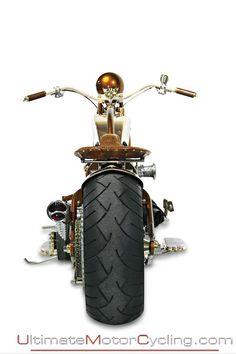 Pan Fry'd Bike | Custom Motorcycle