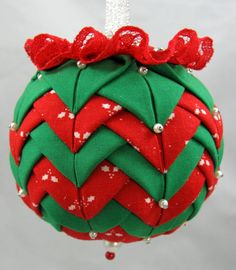 christmas folded fabric flat star pattern | ... ://www.etsy.com/listing/85128450/ornament-kit-christmas-party-quilted