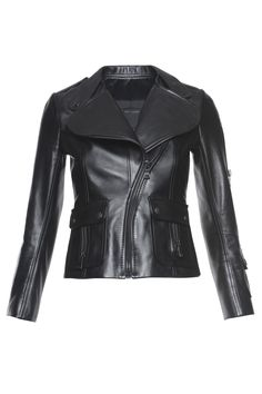 Shop women's jackets and outerwear from Marc Jacobs, featuring embellished denim jackets and statement outerwear to complete your look. Lambskin Leather Jacket, Biker Leather, Leather Jackets, Sweater Coats, Sweaters, Fall Jackets, Outerwear Women, Jacket Style, Mom Style