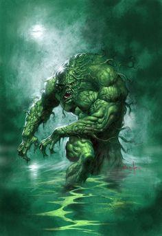 Swamp Thing byLucio Parrillo.