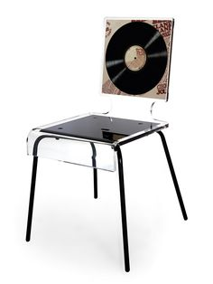 Merveilleux Acrylic Furniture And A Recycled Music Album