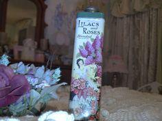 talcum powder tins | Vintage talcum Powder tin