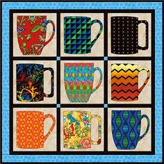Free Quilt Pattern: Cup of Joe