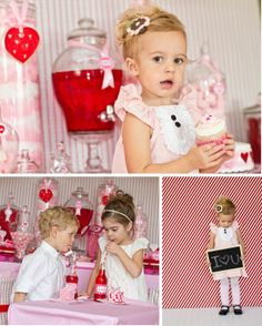 valentines day party/photo ideas.  My littlest daughter is turning 2 on valentine's weekend and having a v-day/b-day party.  Great ideas!