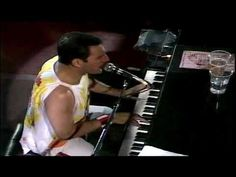 Queen - Bohemian Rhapsody, Live in 1986.  -- Live Rock -- http://pinterest.com/realestatemogul/live-rock-performances/