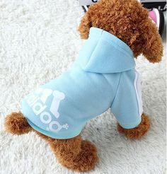 Adidog Soft Cotton Dog Hoodie (7 colors XS-4XL)