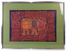 Kuna Mola Panama Textile Artwork