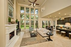 Perry Homes - Sienna Plantation Model Home Design 4930W — in Missouri City, TX