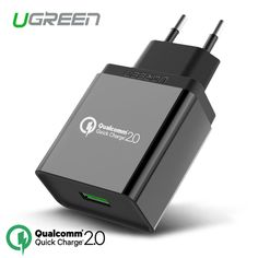 [For Qualcomm Quick Charge 2.0 18W],Ugreen USB Charger Smart Fast Mobile Phone Charger for Samsung S6 Xiaomi LG G4 Wall Charger [Affiliate]