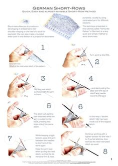 short row heel instructions