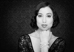 Bridal clasic set with Freshwater Pearls and Swarovski Crystals  Jewellery Designer: Dragonfly Fine Designs      Photographer: Shane Baker - www.balmainstreetstudio.com.au