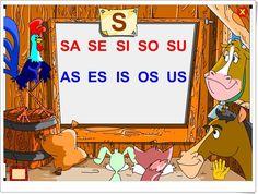 """Silabario-luz: La letra """"s"""""""