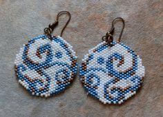 Nice spiral earrings